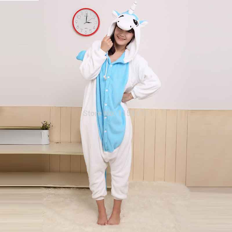 6de0482ad1a7 Unicorn Onesie Blue Kids   Adults (Size 5   up)