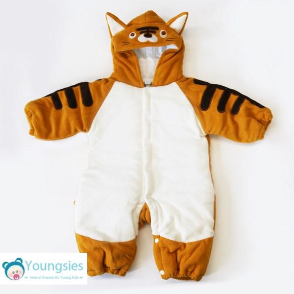 Tiger Romper Suit Onesie