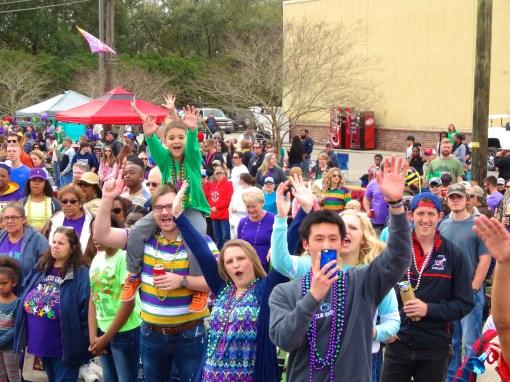 Mardi Gras in Youngsville, LA