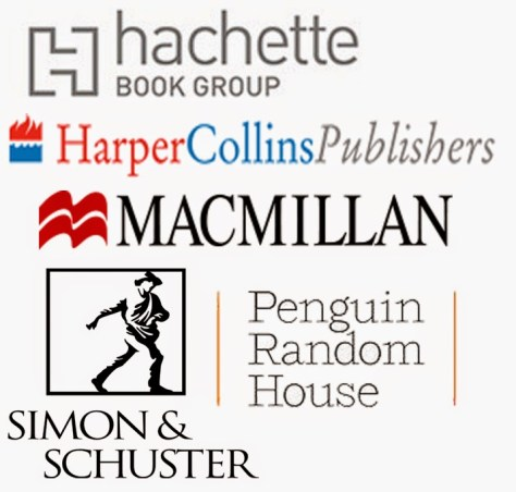 Image result for the big 5 publishers