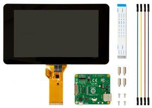 """7"""" touchscreen - 800 x 480"""