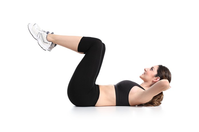 There's a simple trick that is guaranteed to work for weight loss. What is it? Start moving! Get off your butt and go do something. Try this simple 4 exercise home flat belly routine that will burn off tummy fat and motivate you with your weight loss goals!