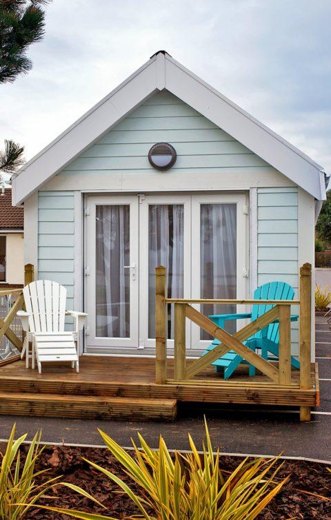 HS Corton - Beach Hut patio