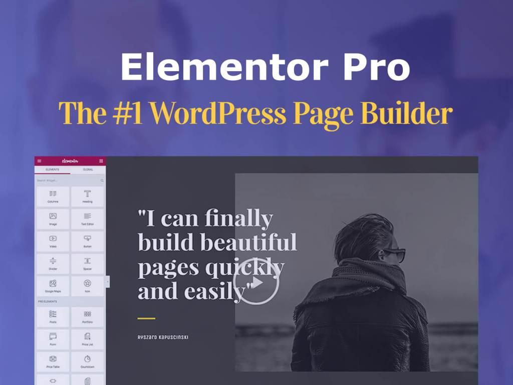 แนะนำการใช้งาน ปลั๊กอิน WordPressPage Builder Elementor ล่าสุด 2020
