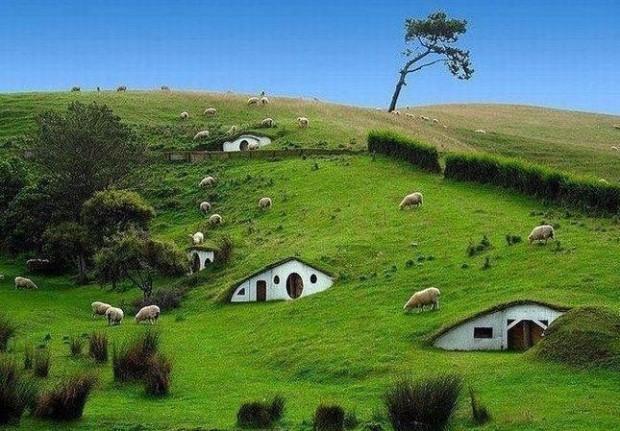 Hobbit Village, Newzealand