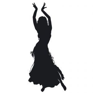 sensuele oosterse dans