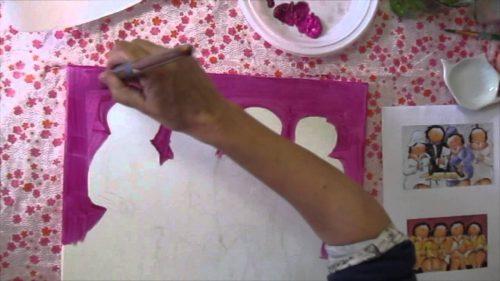 workshop dikke dame schilderen