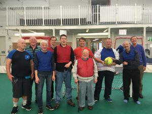 Lads Lunch walking football