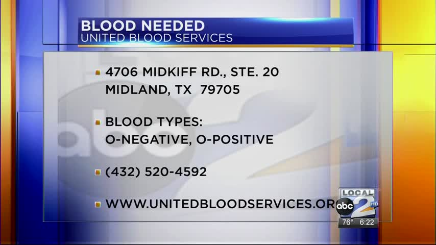 Blood Donors Needed in Basin_20160613132703