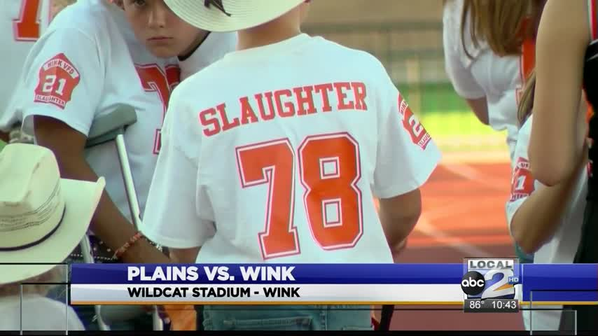 Wink Defeats Plains After Honoring Fallen Firefighter_27853775-159532