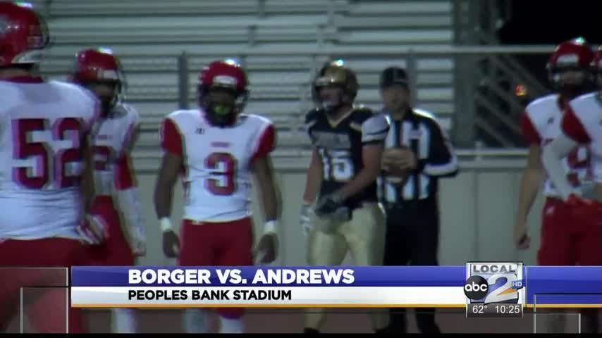 Andrews Takes Out Borger for Bi-District Win_25537087