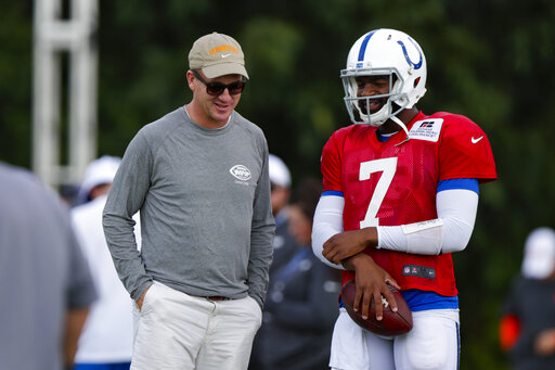 Peyton Manning, Jacoby Brissett