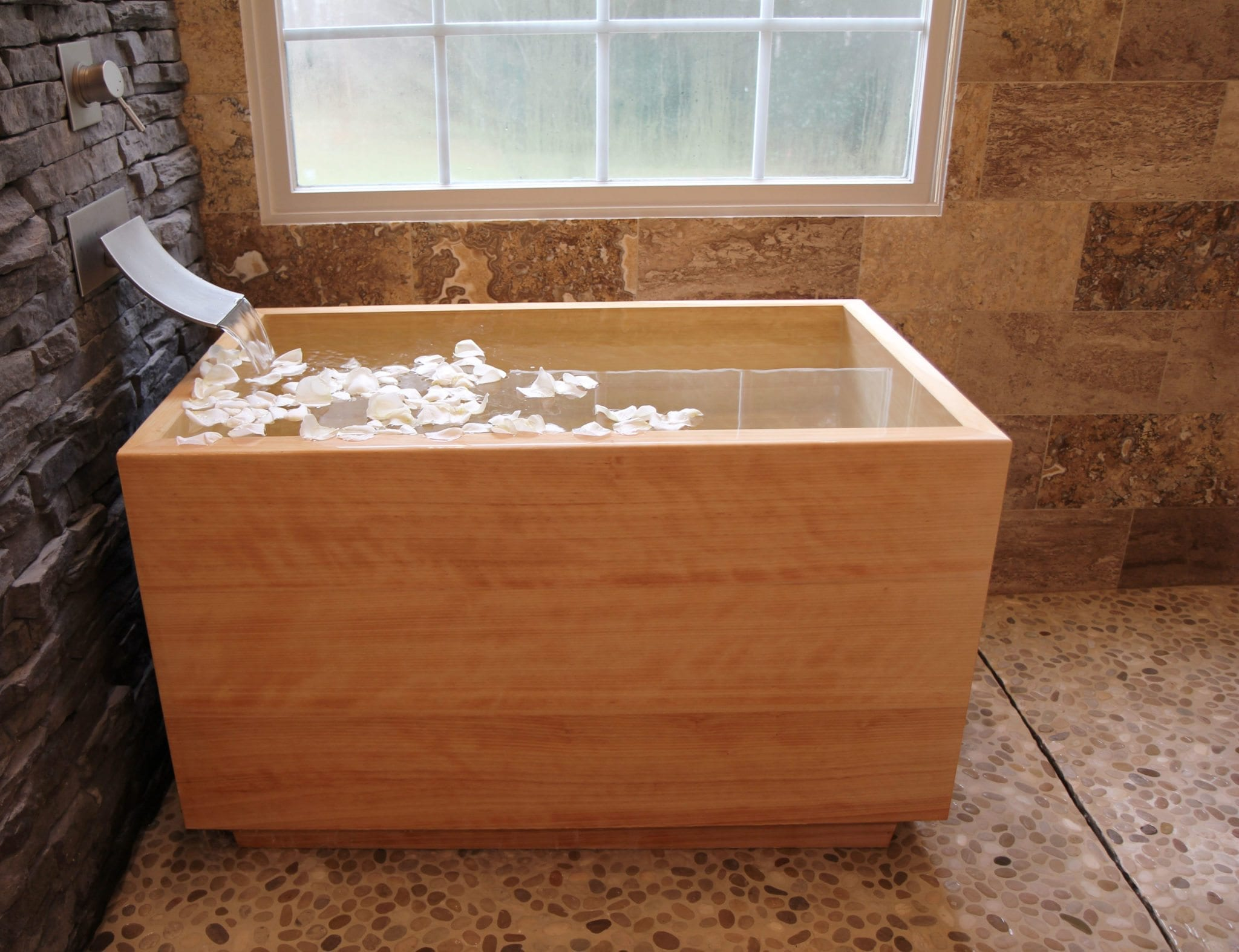 japanese soaking tub. Hinoki Ofuro Tub  Luxury Bathroom Products
