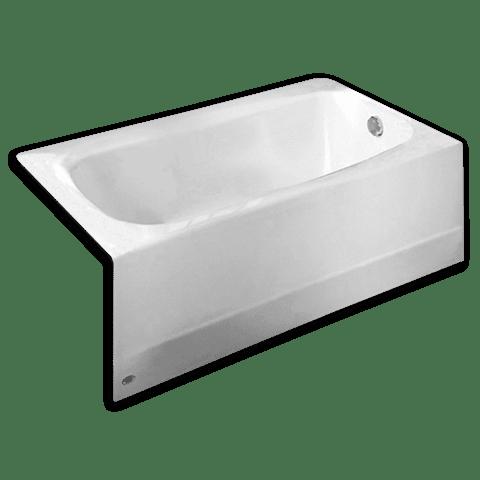 60 Inch By 32 Inch Integral Apron Bathtub