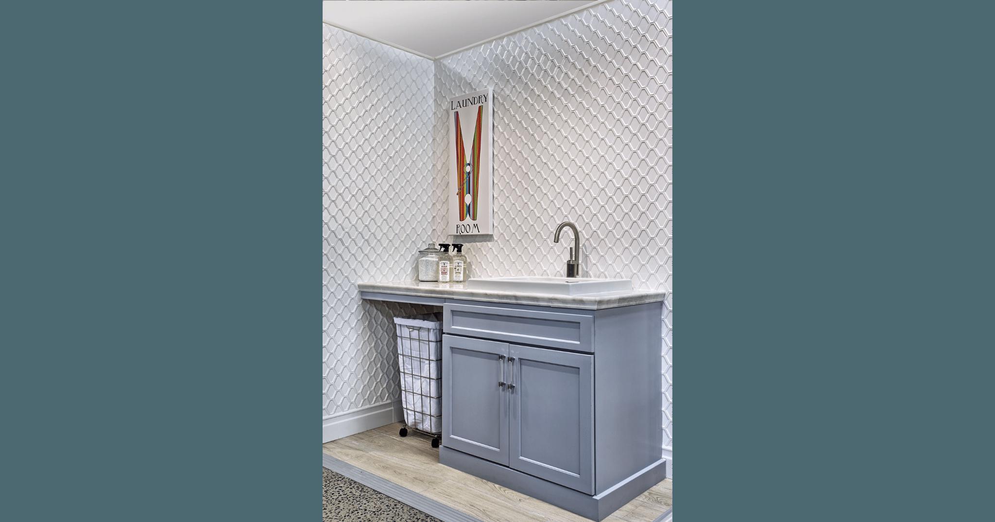 Nova Hex Bianco Ceramic Mosaic Tile 5x5 5 In Luxury
