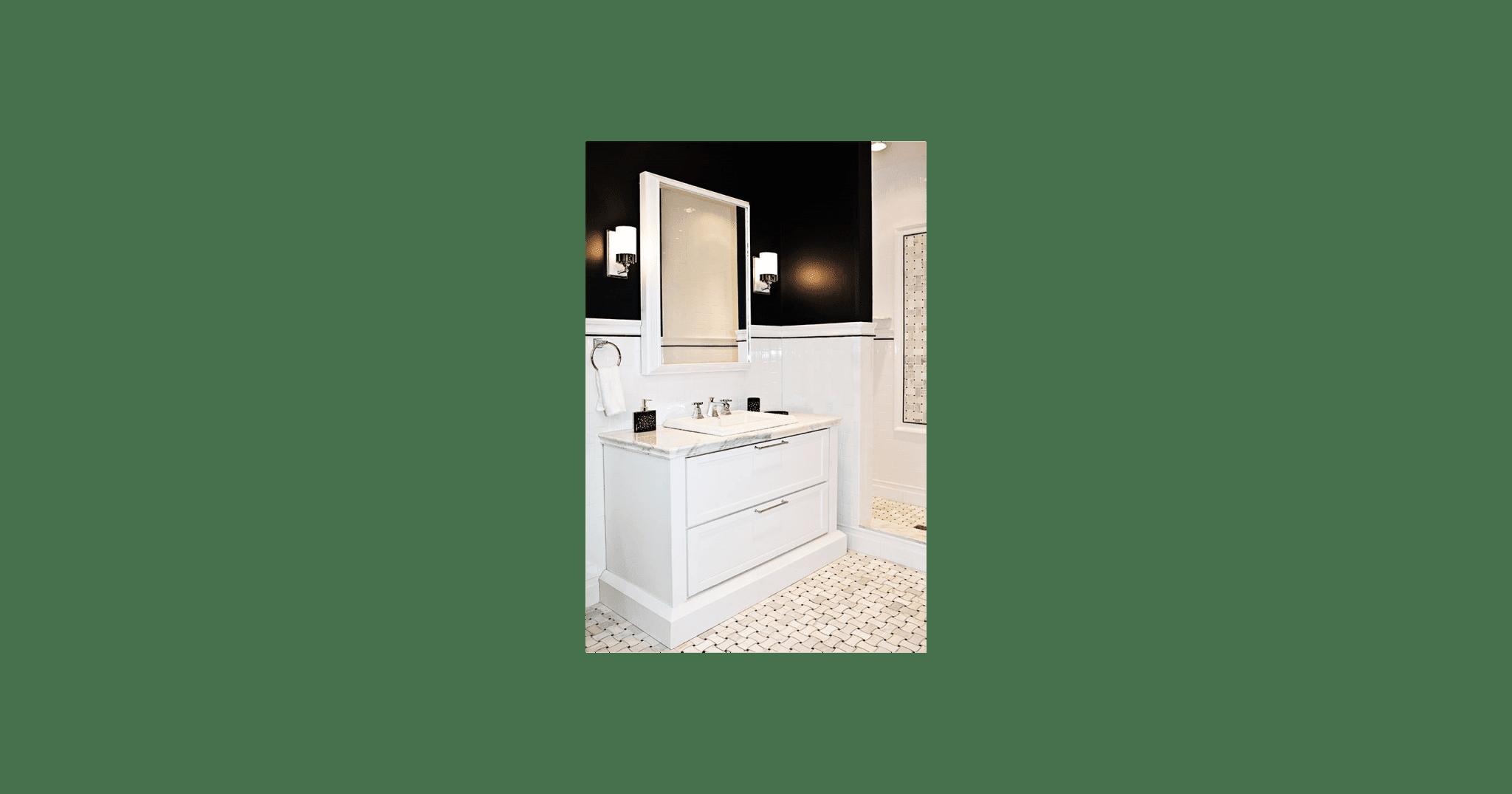 Imperial Bianco Gloss Ceramic Subway Bullnose Tile 3 x 6 IN - Luxury ...