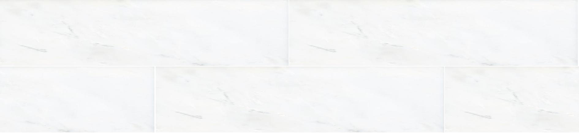Hampton Carrara Polished Marble Subway Tile 2 X 8 In Luxury