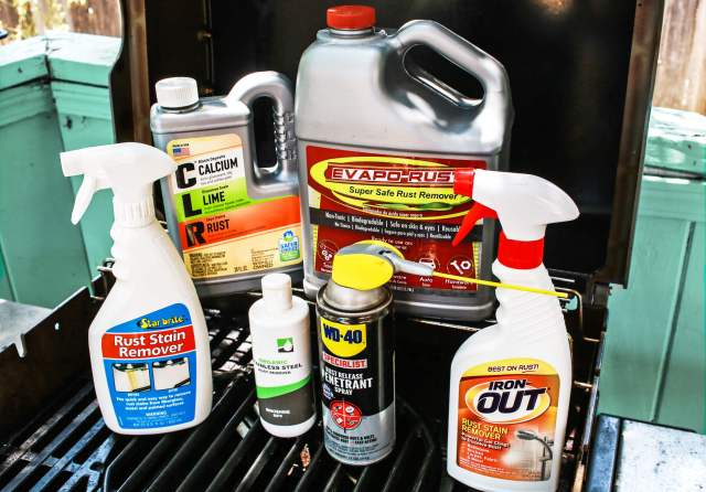 The Best Rust Removers