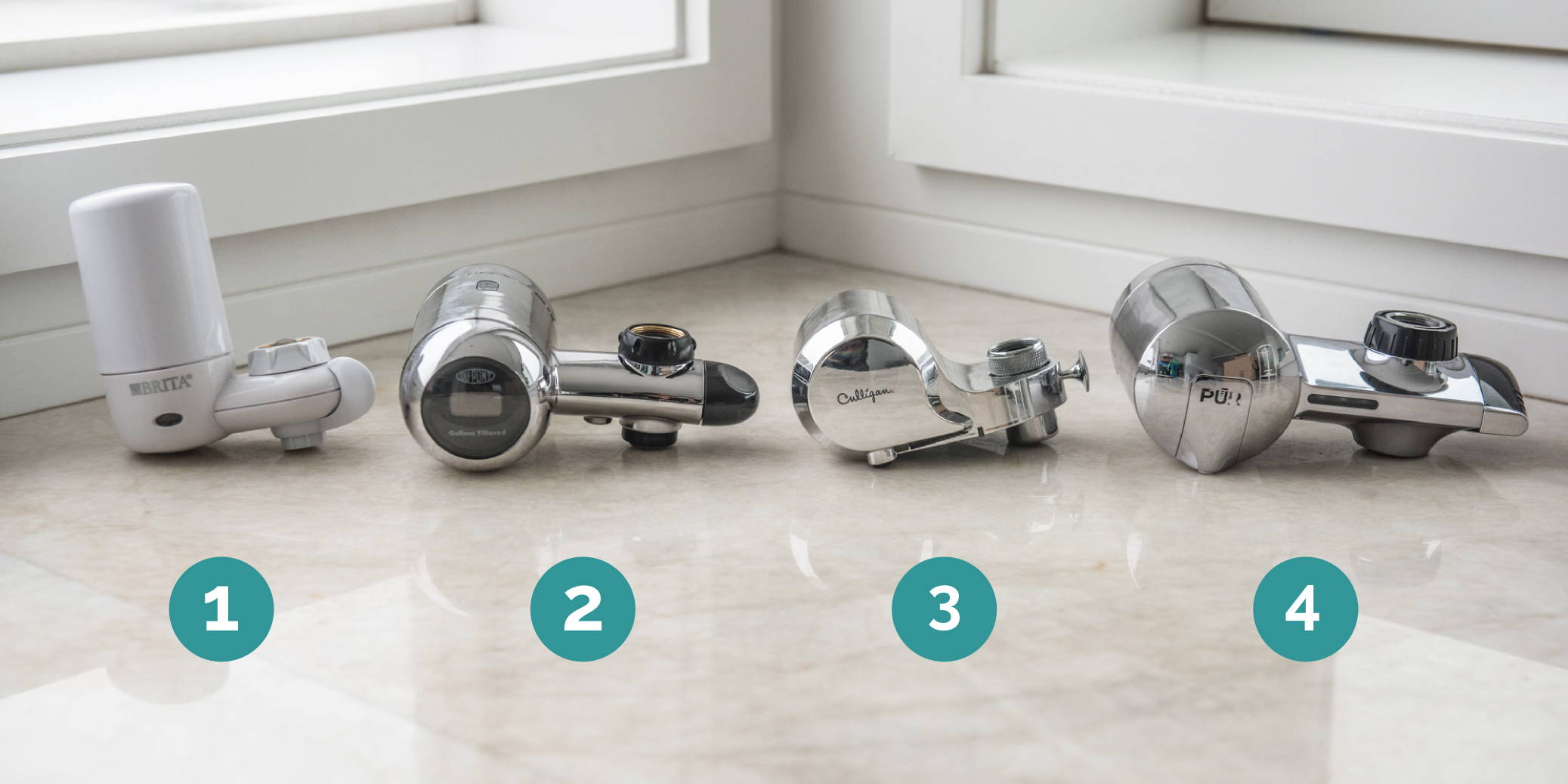 the best faucet water filters of 2021
