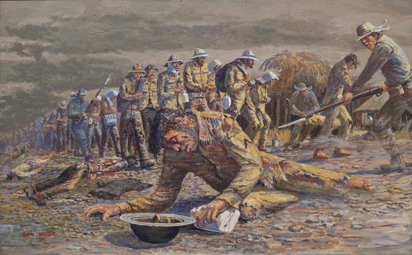 Ben Steele  The Bataan Death March  oil on canvas  jpeg_1557497325535.jpg.jpg