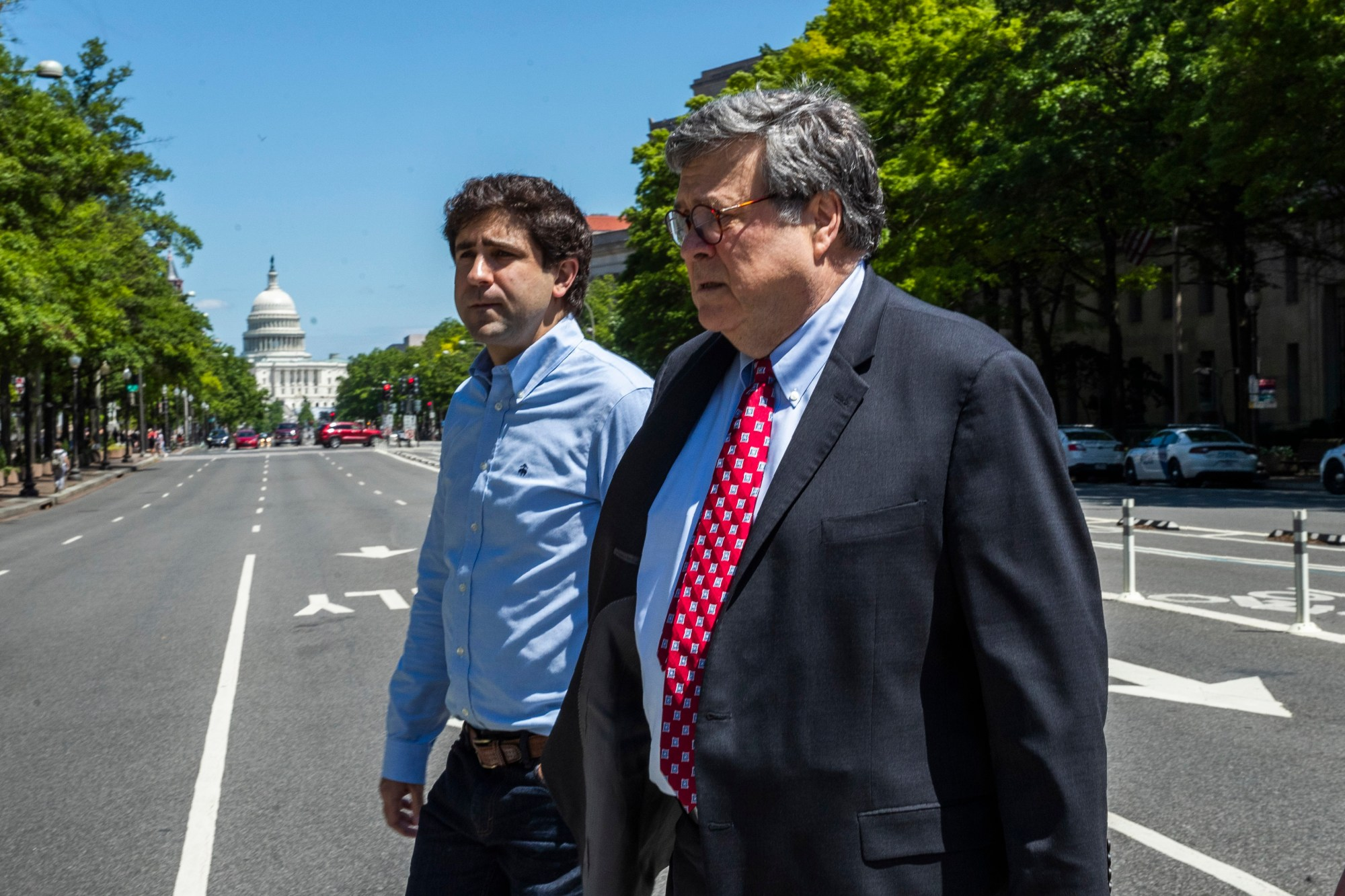 William Barr, Muriel Bowser, Peter Newsham