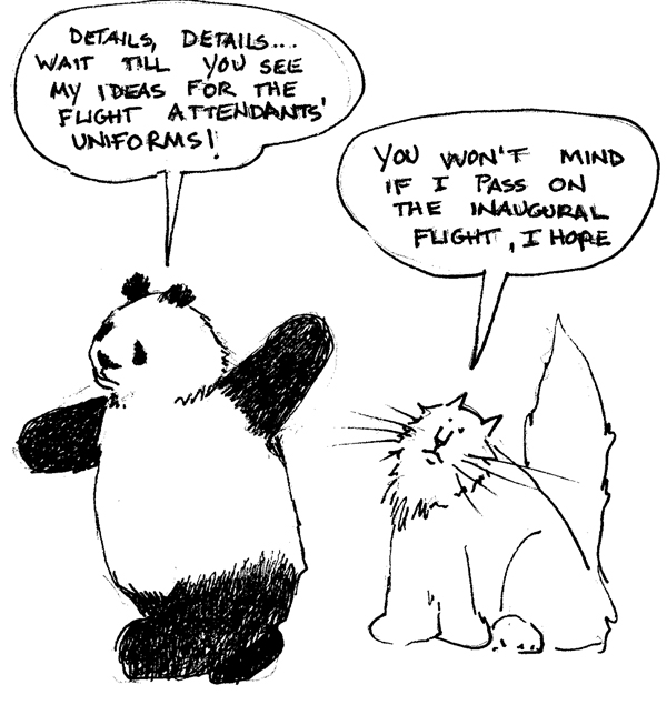 Pandas have a better idea...