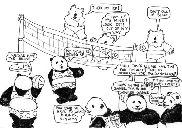 The Pandas first attempt at Olympic Glory!