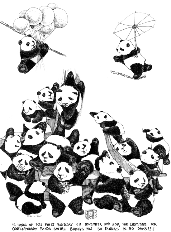 18 pandas