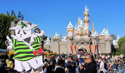 Babette in Disneyland
