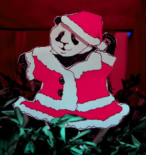 Babette de Panda holiday outfit #1