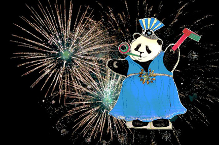 Babette, Fireworks