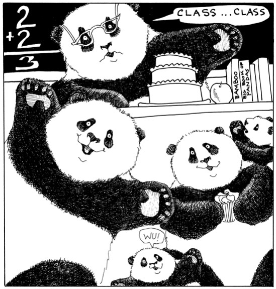 And is that young master Wu, as a new kindy-gartener?  I do SO hope the rest of the P.K. don't teach him any bad habits!