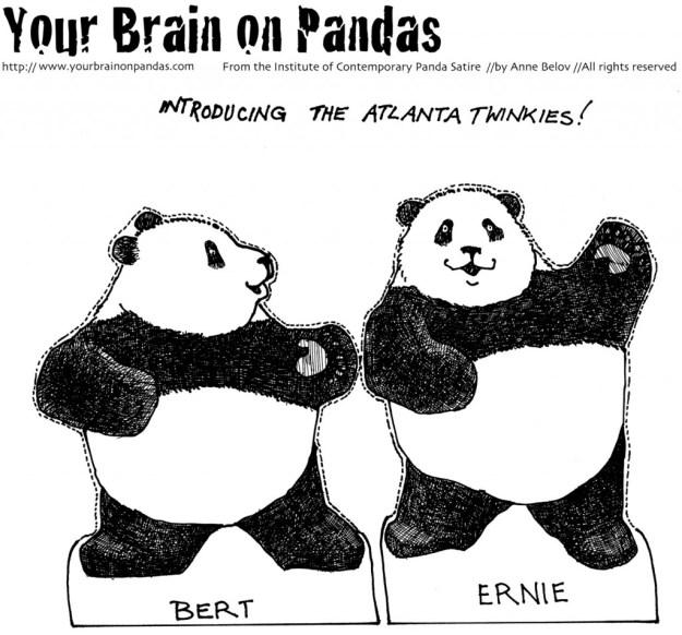 Atlanta panda cub twins