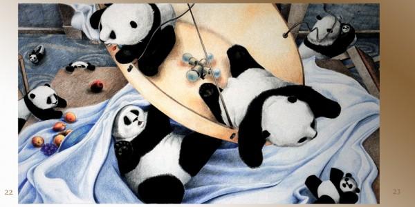 pages 22-23 of Pandamorphosis