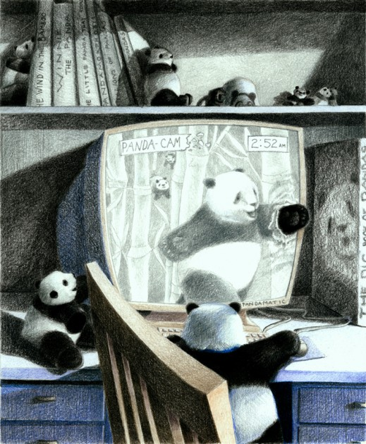pandas are sneaking out into the world....