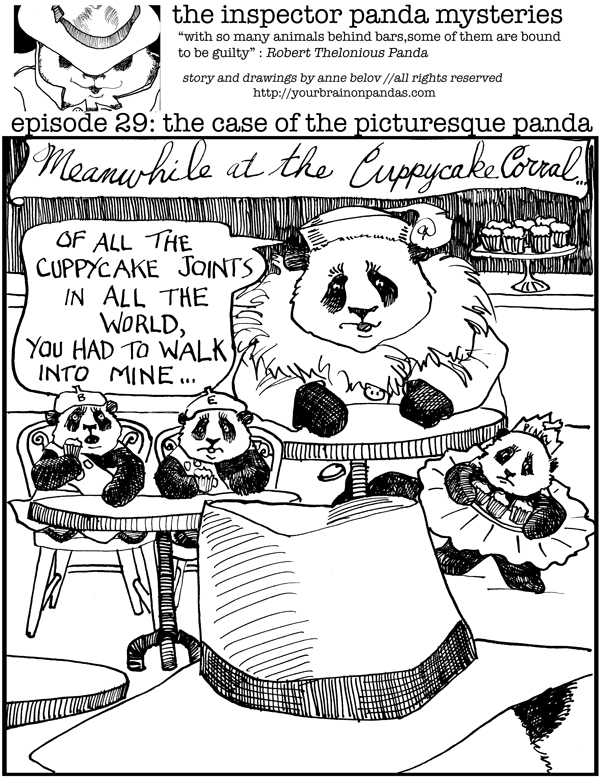 Oh, Inspector Panda! What a surprise!
