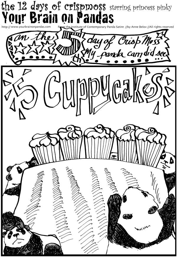 FIIIIIVE cuppycakes!