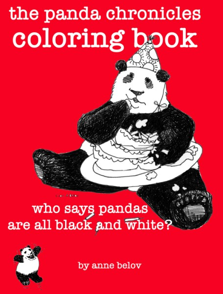 The Panda Chronicles Coloring Book