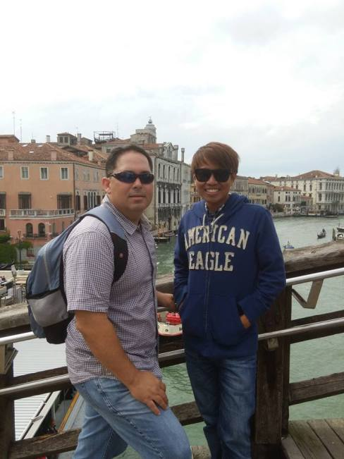 At the Grand Canal