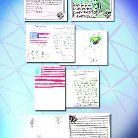 KCRA Letters to Troops