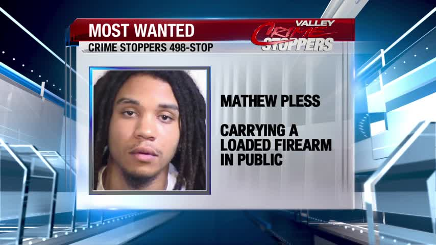 Crime Stoppers Most Wanted: Mathew Pless