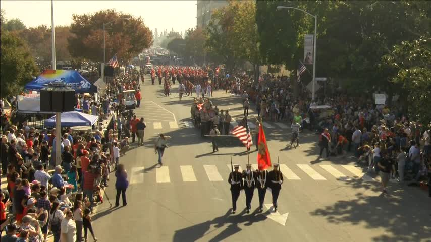 Fresno Veterans Day Parade now largest in the nation