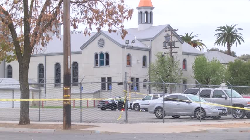 Church members react to double shooting in parking lot_40349889
