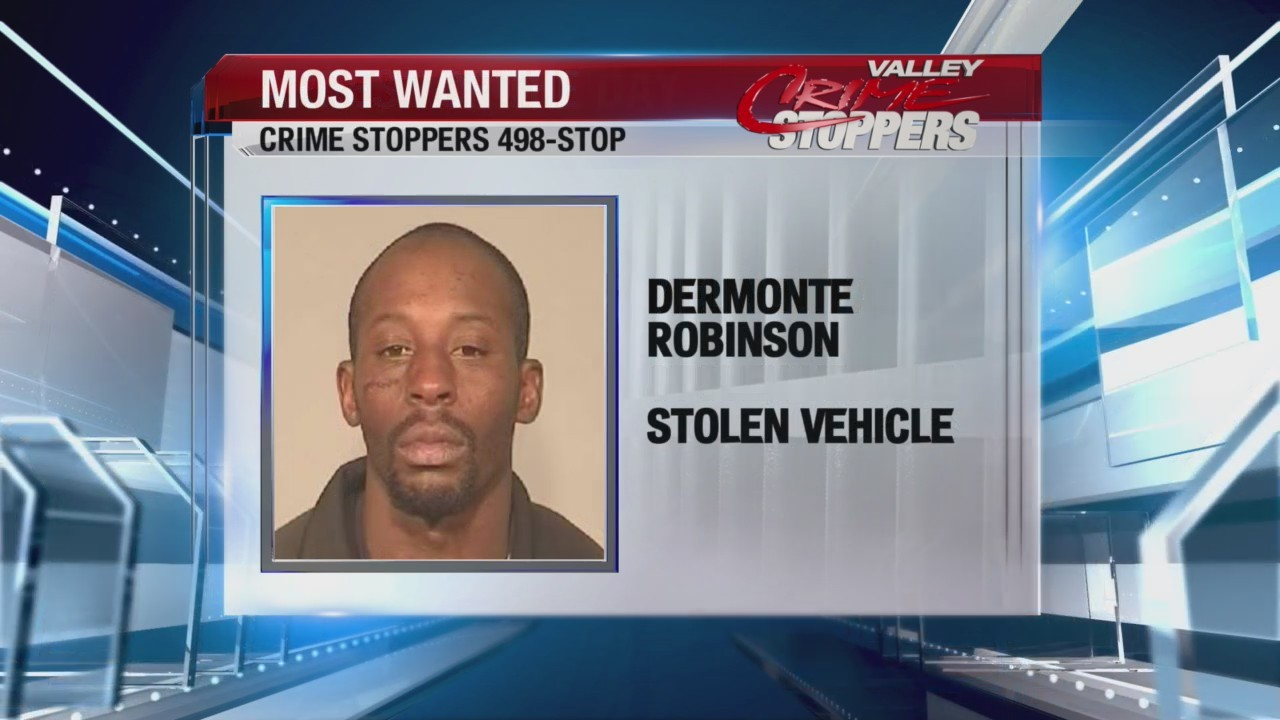 Crime Stoppers Most Wanted: Dermonte Robinson
