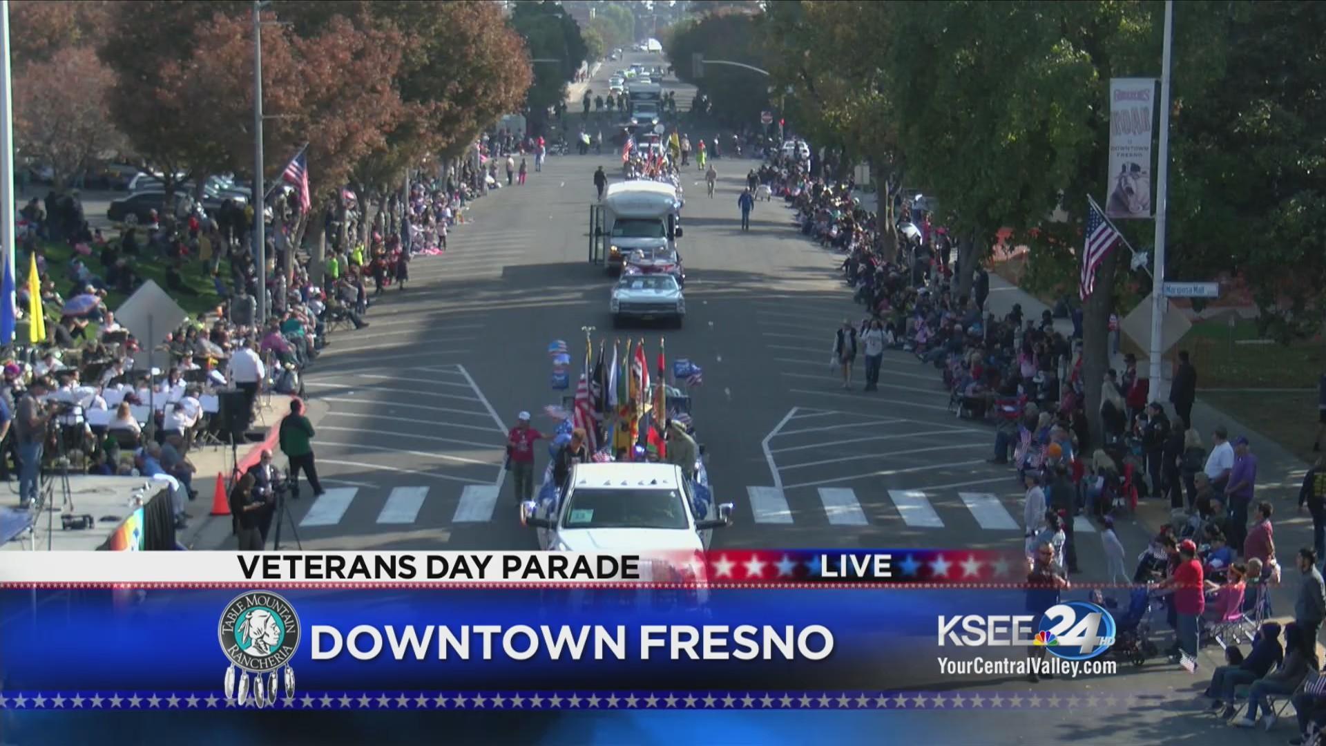 Fresno Veterans Day Parade 2018 - Part 1