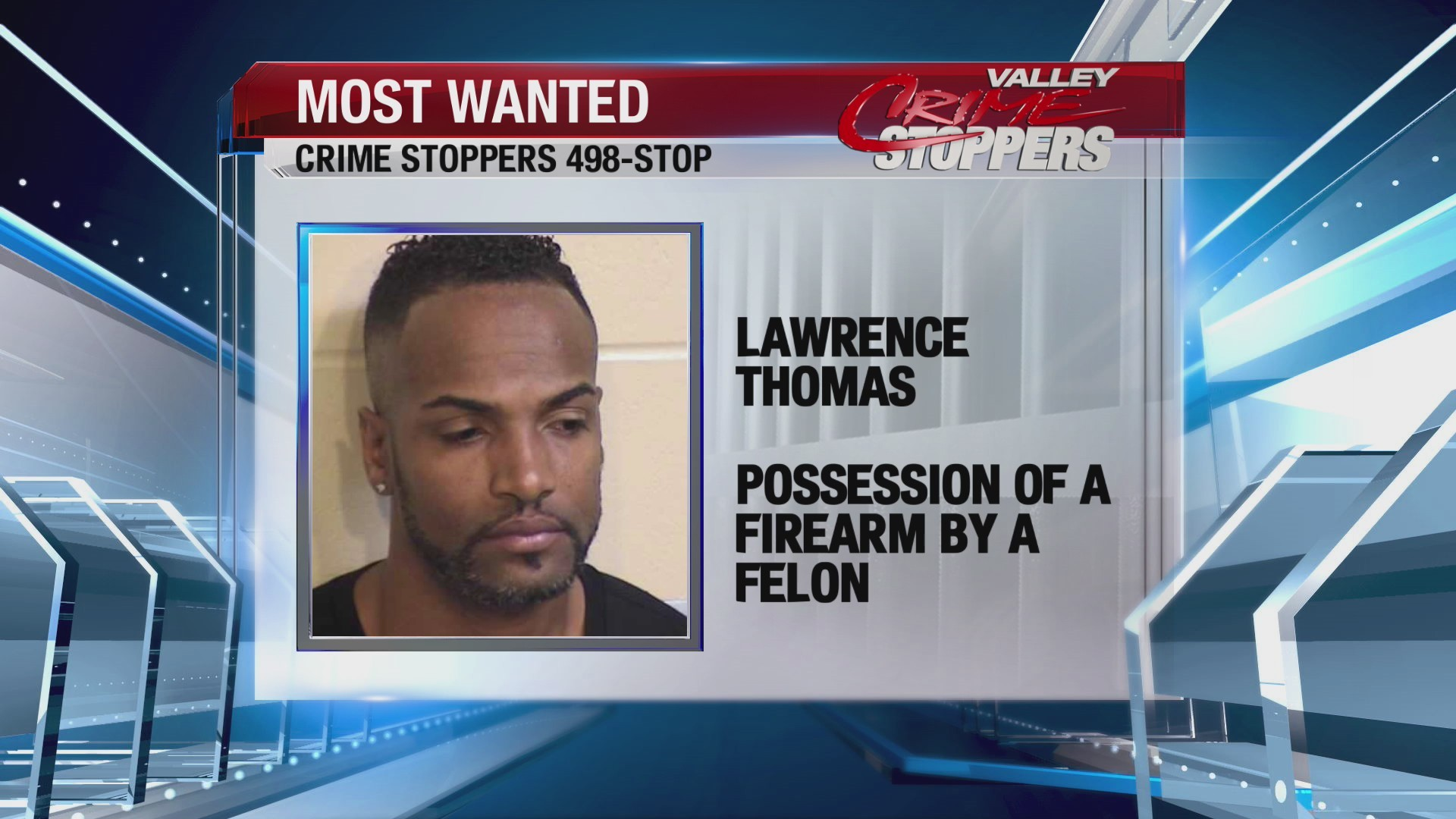 Crime Stoppers Most Wanted: Lawrence Thomas