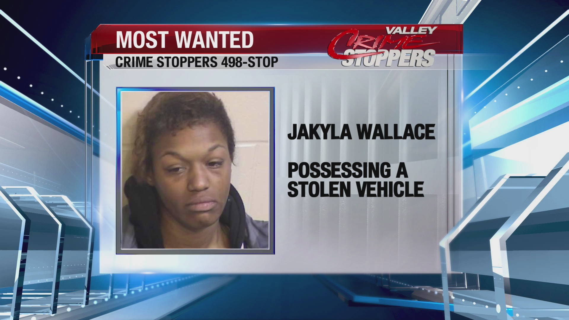 Crime Stoppers Most Wanted; Jakyla Wallace
