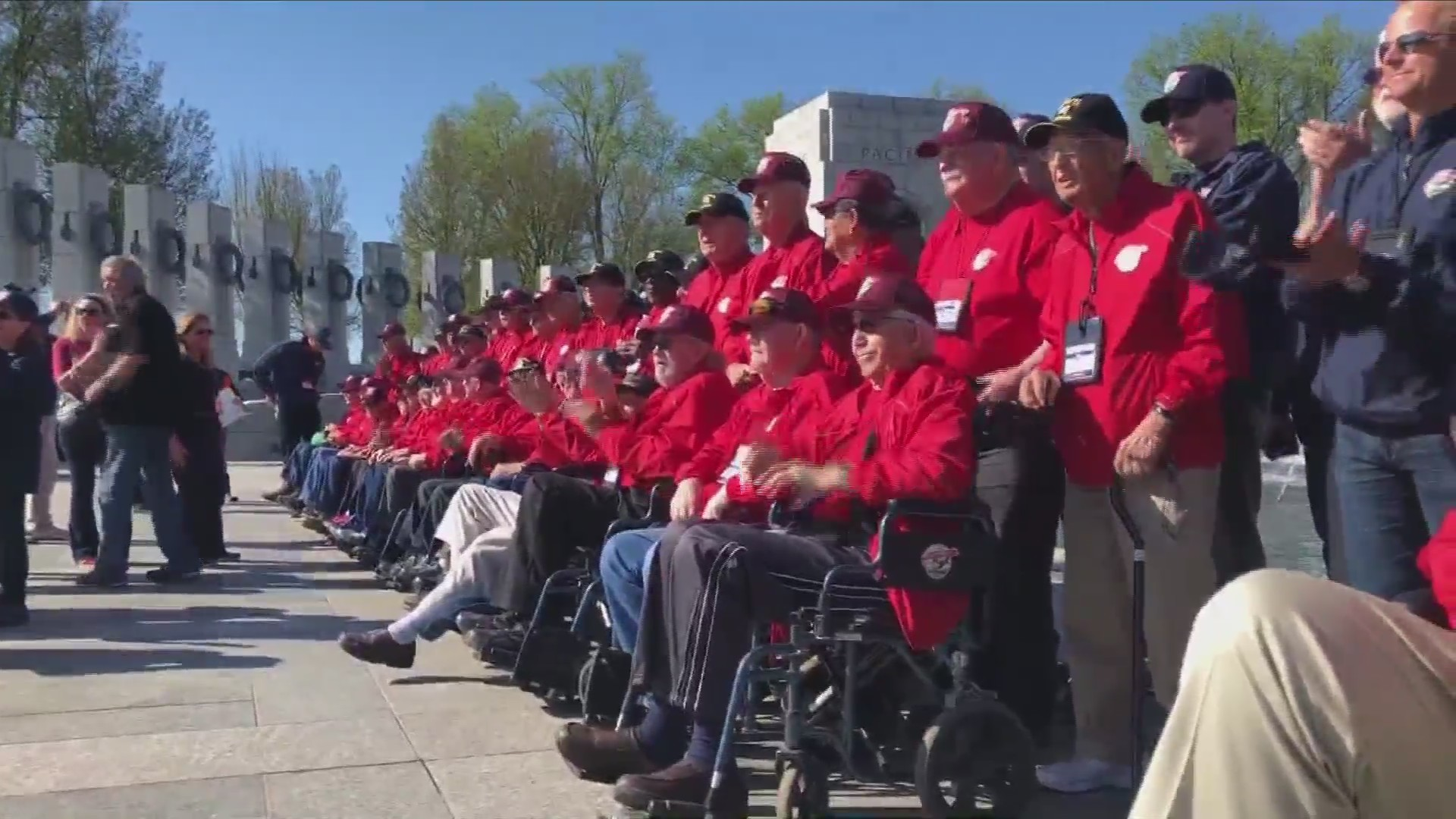 Eighteenth Central Valley Honor Flight wasn't without smiles and emotional moments