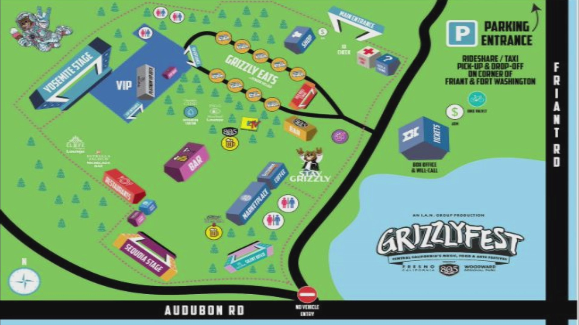 Grizzly Fest music and arts festival set to kick off