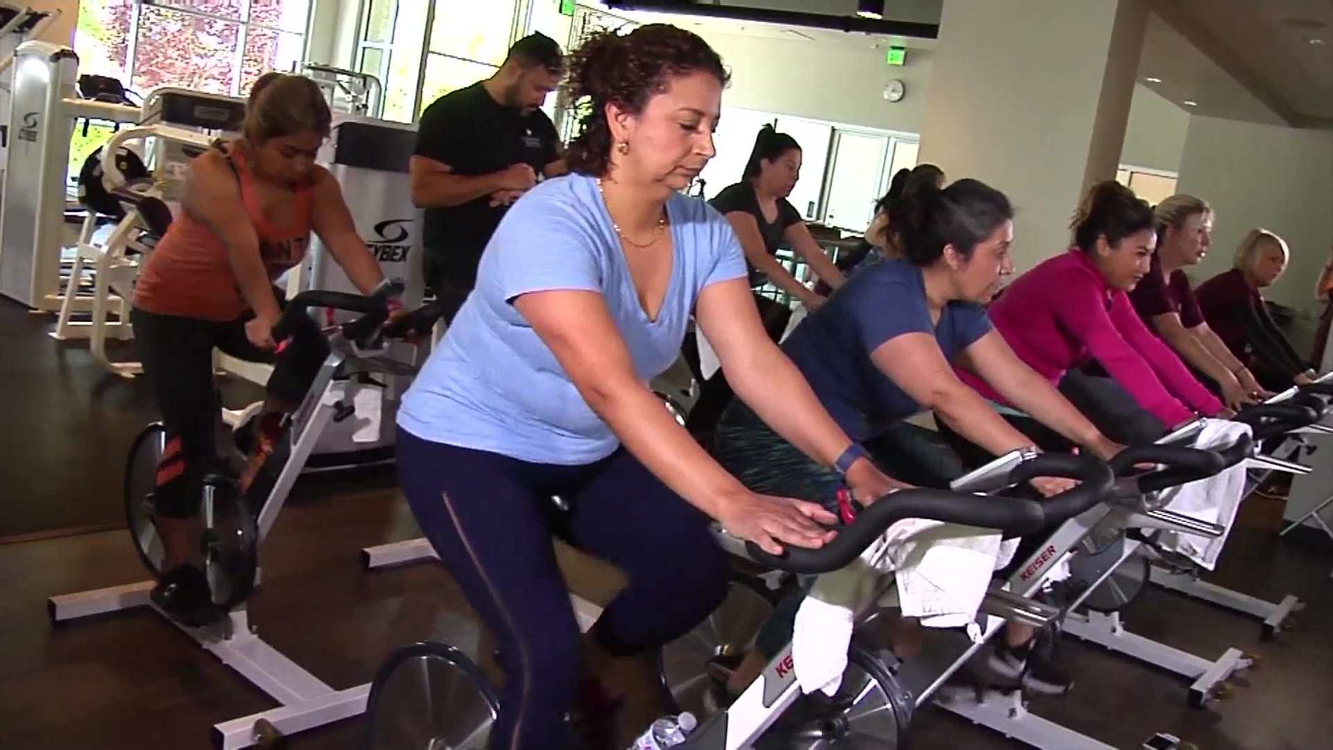MedWatch Today: In The Gym, Spin Class Benefits